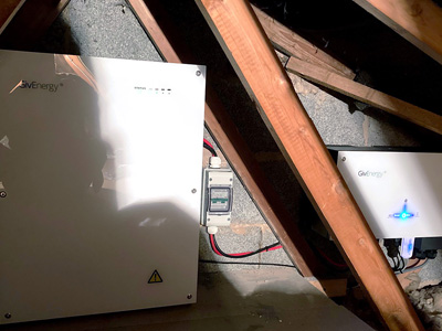 Givenergy Battery in loft