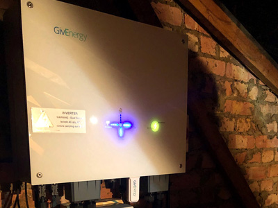 Givenergy Solar storage