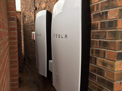 Tesla Powerwall battery double install
