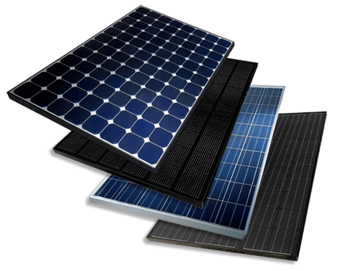 Range of Solar Panels
