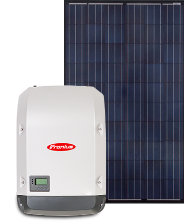 Sapphire panels with Fronius inverter