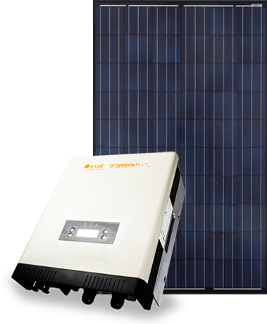 Sapphire panels with Omnik inverter