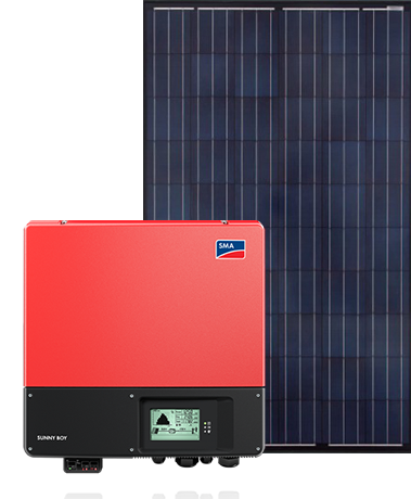 Sapphire panels with SMA Sunny Boy inverter